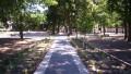Park przed klasztorem w Smardzewicach odrestaurowany